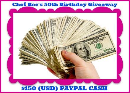Chef Bec's Birthday Giveaway!