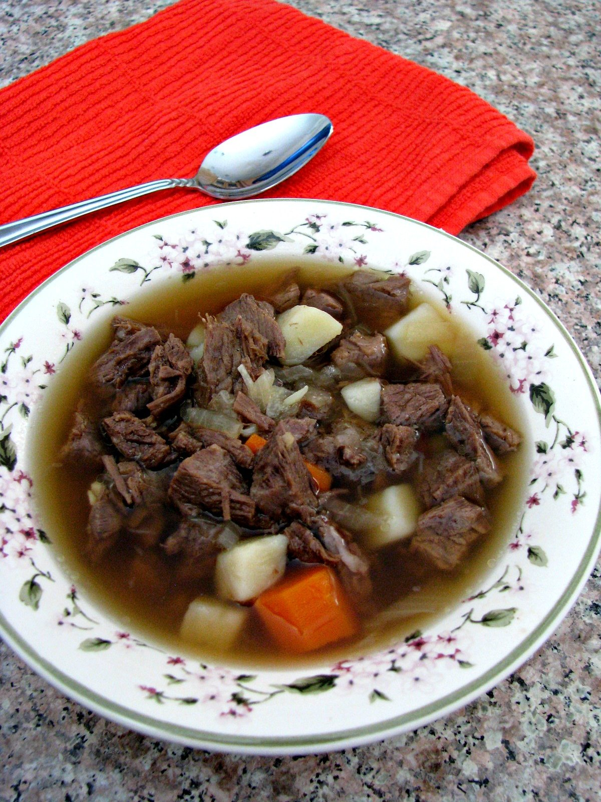 Beef Pot Roast Soup