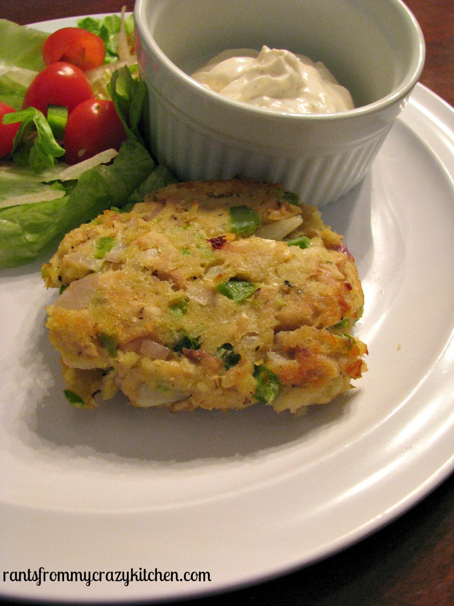 Tuna Cakes with Garlic Lemon Aioli