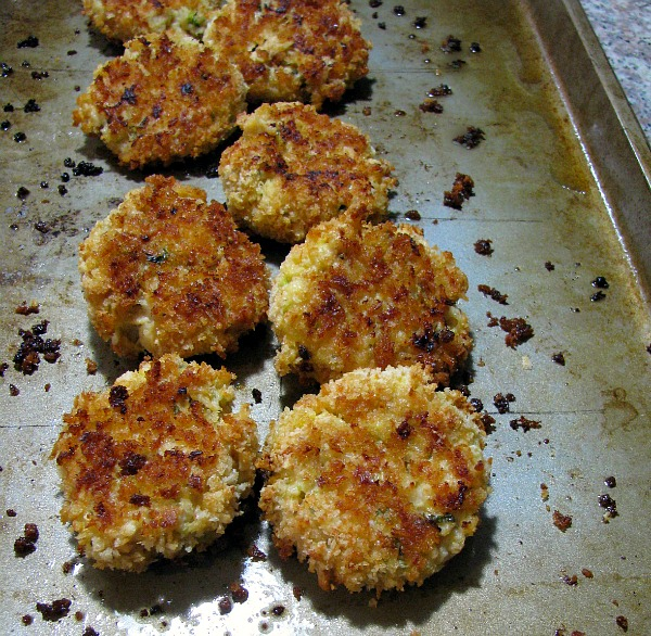 Oven Baked Chicken Croquettes