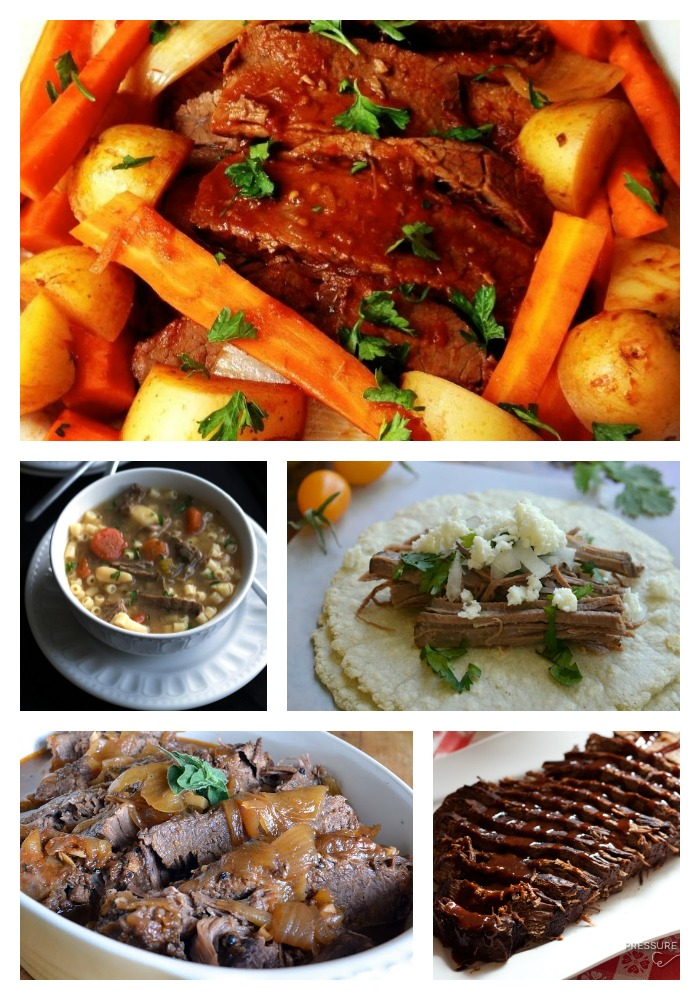 11 Mouth Watering Beef Brisket Recipes- from traditional beef brisket to soups, stews and tacos, you'll find a recipe to love here!